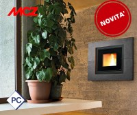 TERMOCAMINO MCZ VIVO 90 CONFORT AIR 11